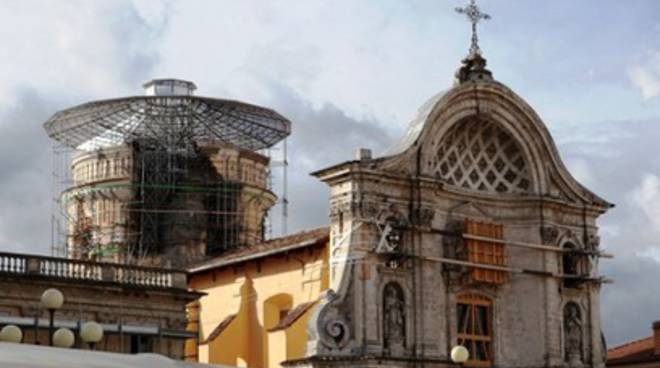 Chiesa Anime Sante chiusa per restauro