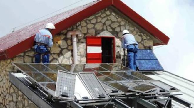 Energia verde per il Rifugio Franchetti