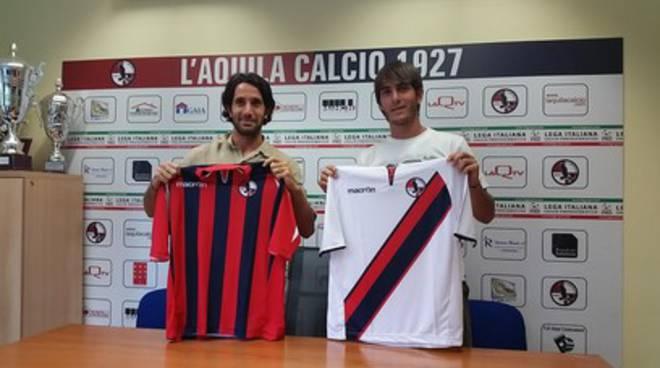 L'Aquila Calcio: presentati Mancini e De Francesco