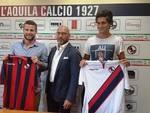 L'Aquila Calcio: presentati Zandrini e Perpetuini