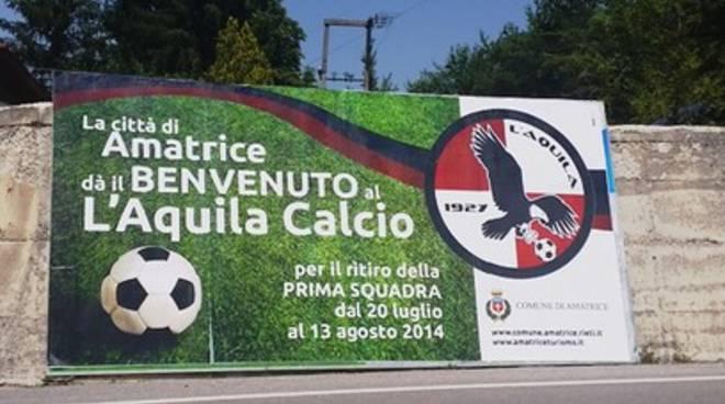 L'Aquila Calcio: primo giorno sul campo