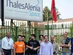 Thales Alenia, sit-in a Roma per salvare il salvabile
