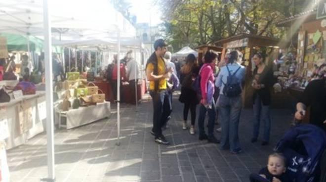 Il Mercato alla Villa Comunale riprende vita