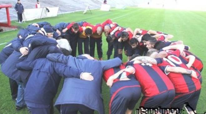 L'Aquila Calcio, annullata amichevole con la Borghesiana