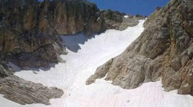 La neve perpetua del Calderone