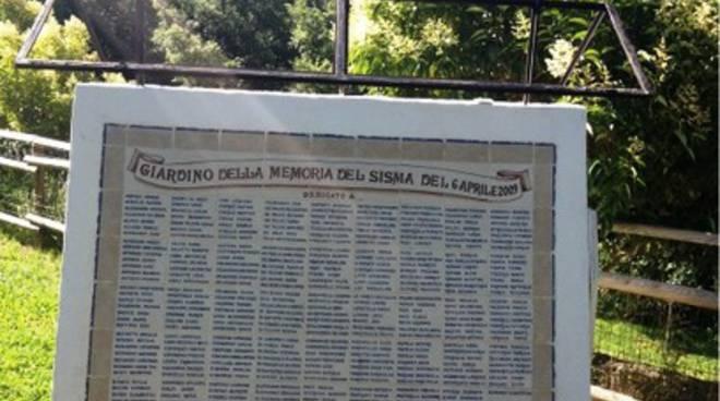 Nuovo atto vandalico nel Giardino della Memoria