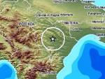 Terremoto 3.1 in Basilicata