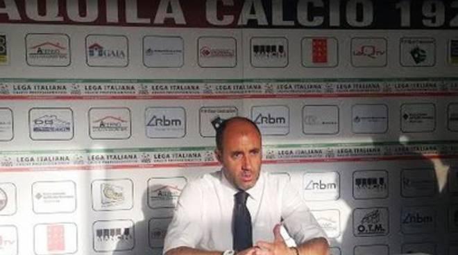 L'Aquila Calcio, Zavettieri: «Curioso di vedere la mia squadra»