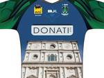 L'Aquila Rugby, una maglia per la Basilica di San Bernardino