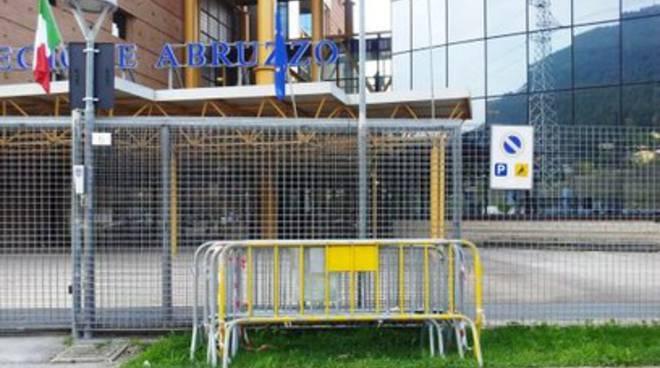 Palazzo Silone diventa un set cinematografico