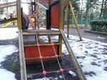 Parco giochi del Castello chiuso per manutenzione
