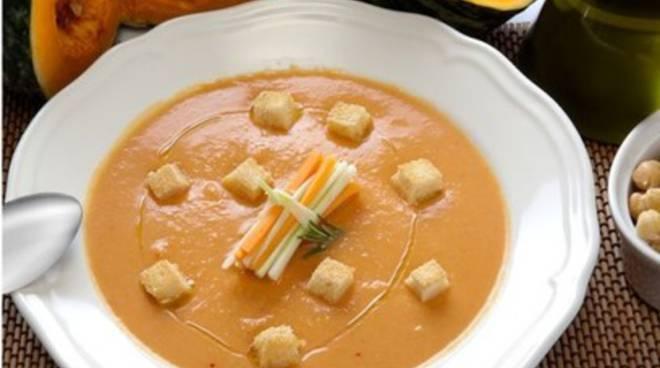 Ricettandoacasa 2.0, Zuppa di zucca e ceci al rosmarino