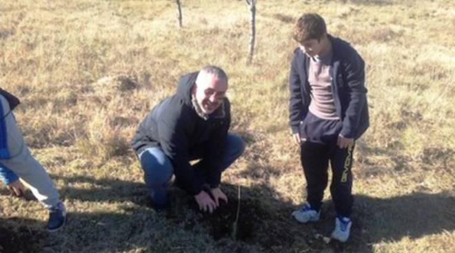 Festa dell'albero ad Avezzano, il passato nel futuro