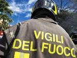 Frana a Pescara, l'intervento dei VVF