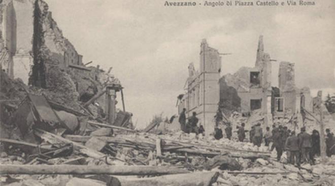 Centenario del terremoto della Marsica in Senato
