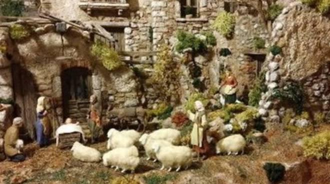 L'Aquila, mostra di presepi in centro