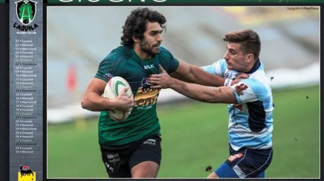 Nuovo obiettivo per L'Aquila Rugby, Fama firma il calendario