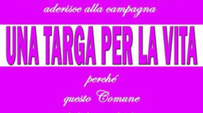 Pratola Peligna, una targa per dire no al Femminicidio