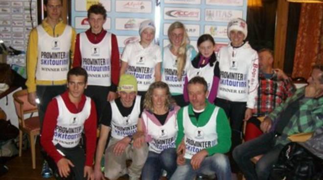 Scialpinismo: L'Aquila vincente