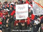 Scontro L'Aquila-Pistoiese: il fotoracconto