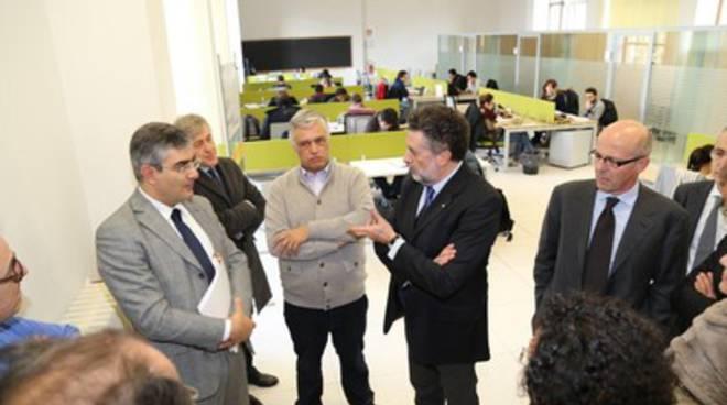 D'Alfonso visita il Gran Sasso Science Institute