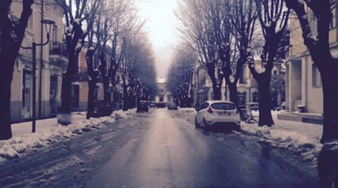 Avezzano, il piano neve