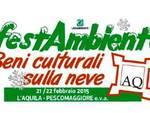 FestAmbiente Beni Culturali sulla neve