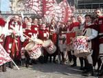 Gli sbandieratori aquilani incantano Venezia