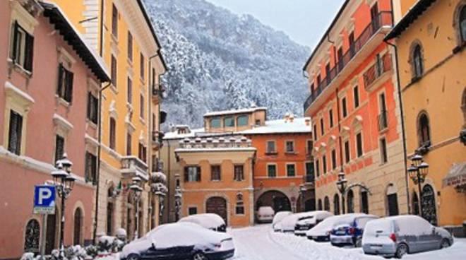 Maltempo killer a Tagliacozzo, grave operaio del Comune