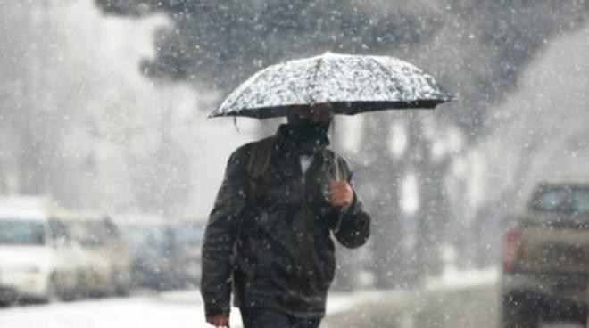 Meteo: ancora neve, vento e pioggia