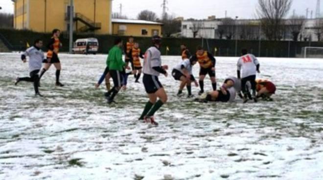 Polisportiva L'Aquila Rugby, successo sulla neve
