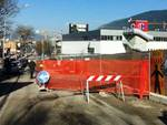 Porta Barete, spunta cantiere all'altezza del civico 207