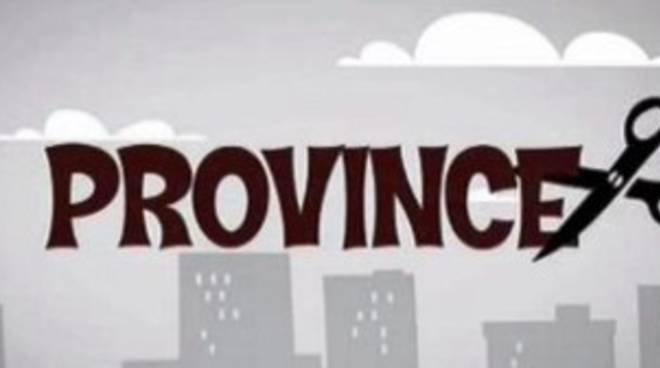 Province: verso le comunità locali di area vasta