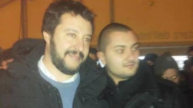 Salvini: «Sono qui per la ricostruzione»