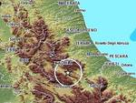 Terremoti, scossa 2.3 nella Valle dell'Aterno