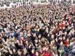 100 giorni, studenti aquilani verso San Gabriele