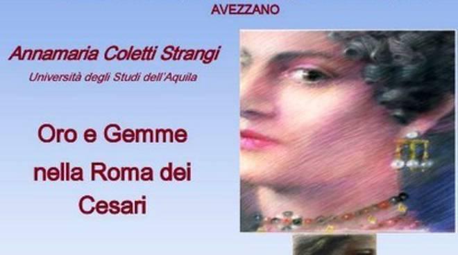 Avezzano: 'Oro e gemme nella Roma dei Cesari' all'istituto Majorana
