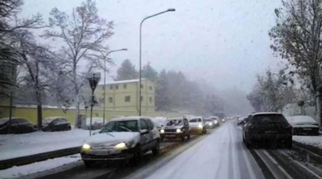 Neve in agguato, domani scuole chiuse a L'Aquila