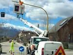 Pit stop ai semafori di San Sisto
