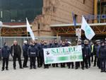 Polizia locale manifesta a Palazzo Silone