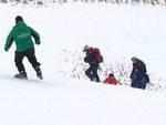 Slittini 'pericolosi' nell'Aquilano, salvate 4 persone
