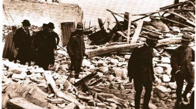 Avezzano, riemergono le macerie del 1915