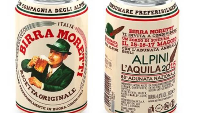 Birra Moretti con gli alpini a L'Aquila