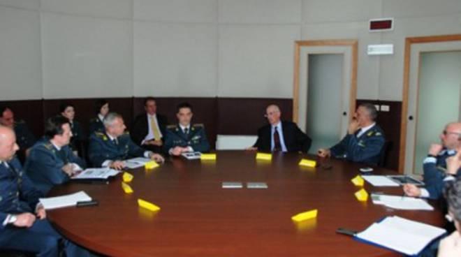 GdF Aq, il procuratore della Corte dei Conti in visita