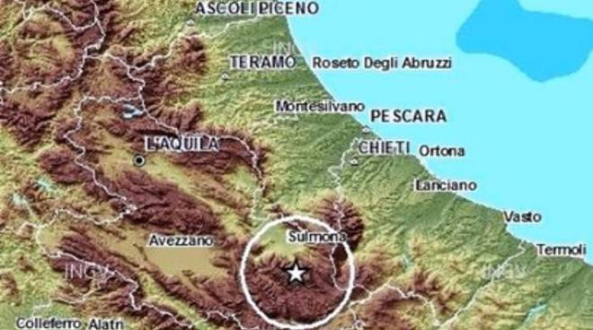 Terremoti, lieve scossa a Pettorano