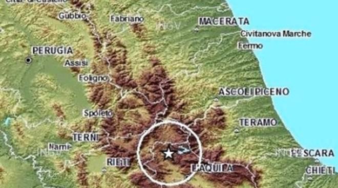 Terremoti, lieve scossa nell'Aquilano