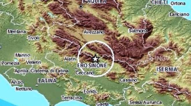Terremoti, trema nella notte la Valle Roveto