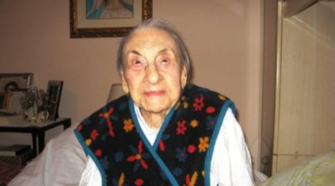 Addio a Luisa Riso, nata 109 anni fa