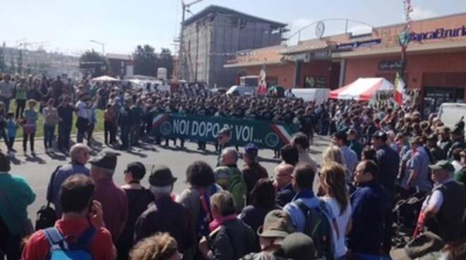 #AdunataAlpini, «L'Aquila è una città in ripresa»