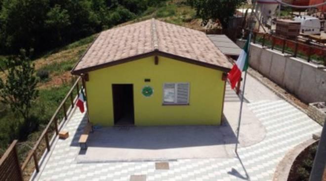 Casetta degli Alpini a Villa Sant'Angelo